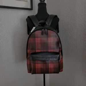 Coach Charles Laptop Backpack/Book Bag